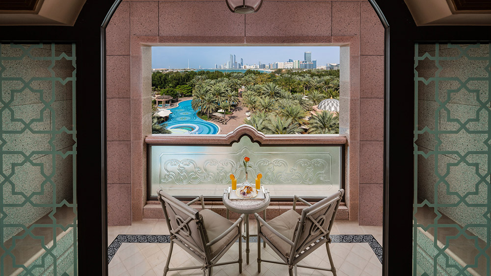 Balcony of the Pearl at Emirates Palace