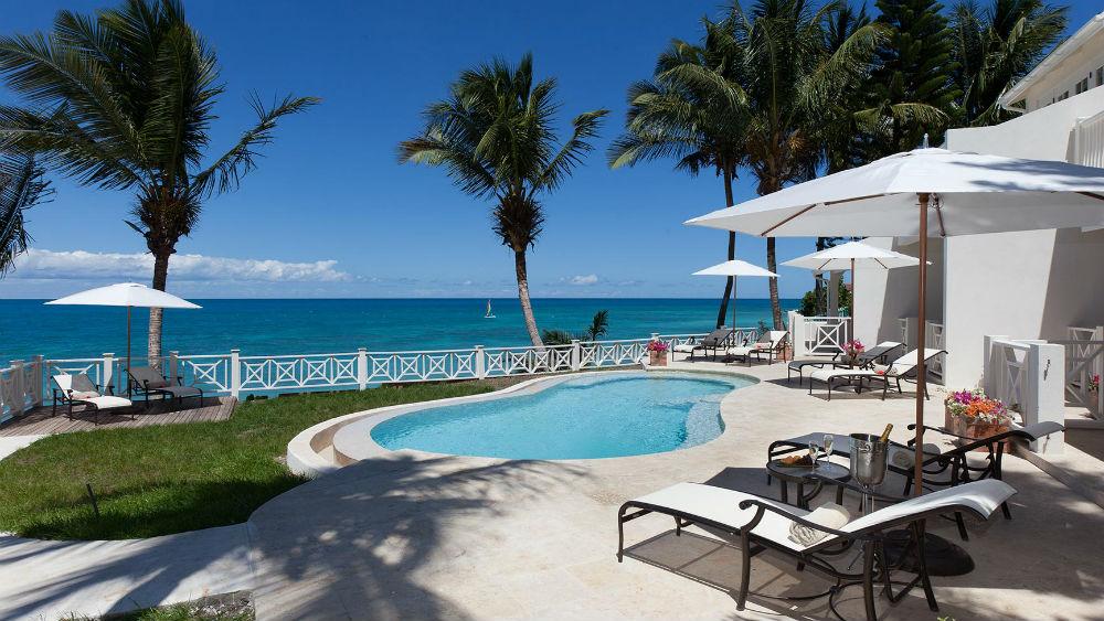Private pool at Blue Waters Resort in Antigua