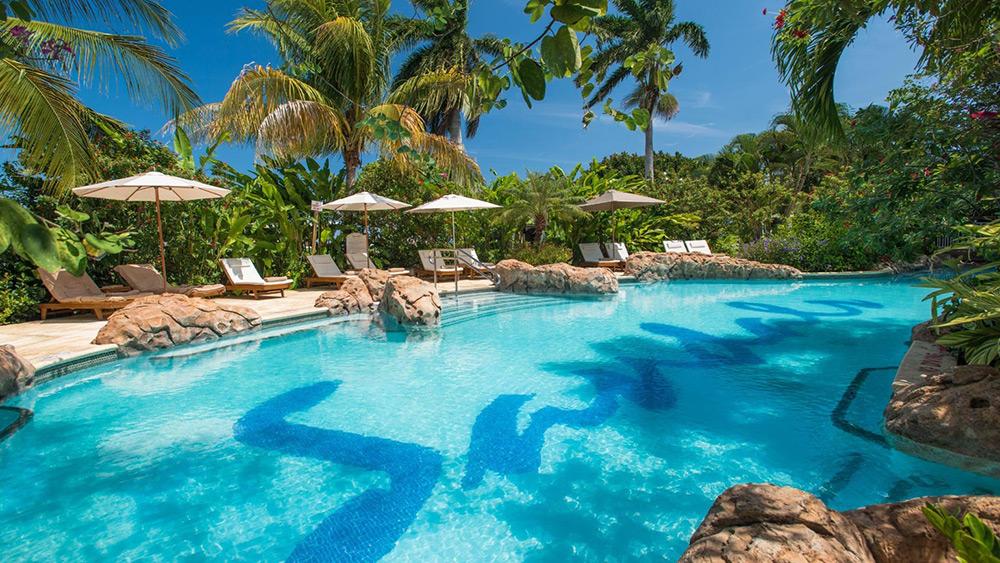 Pool at Sandals Royal Caribbean
