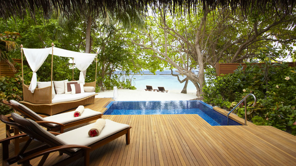 Pool Villa at the Baros Maldives