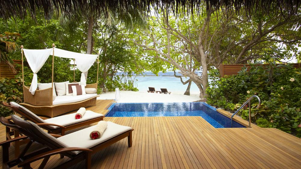 Pool Villa at the Baros Maldives
