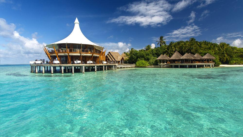 Restaurants at the Baros Maldives