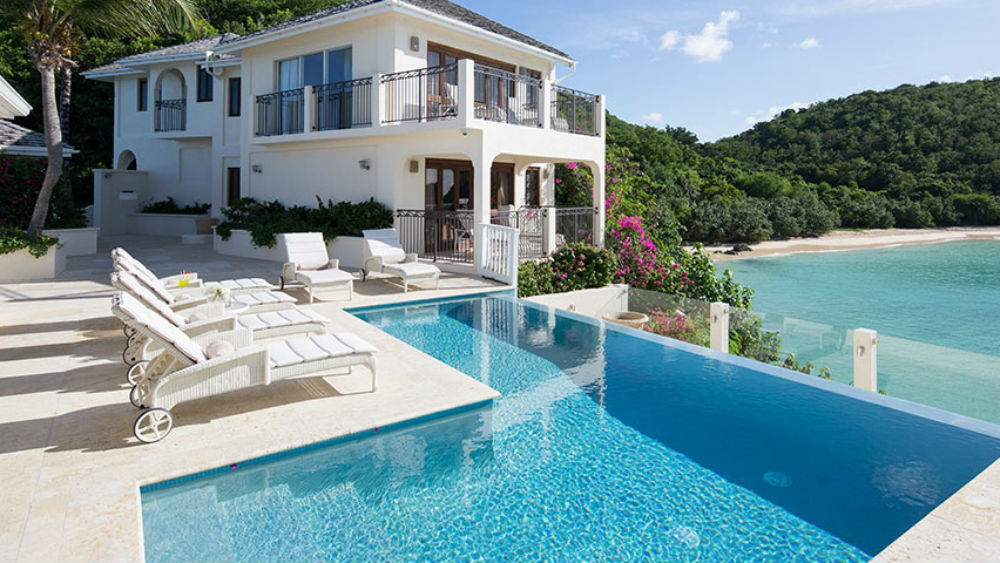 The Rock Cottage Pool View at the Blue Waters Antigua