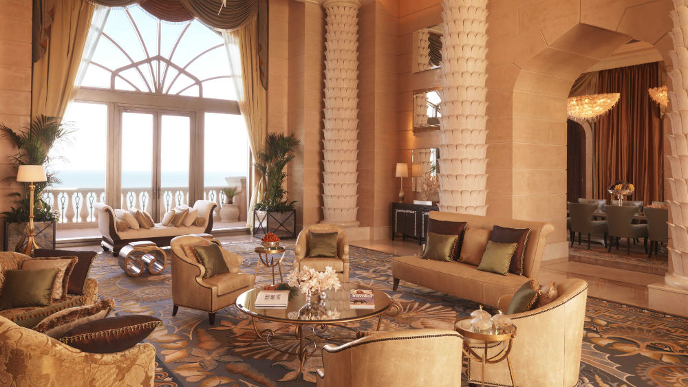 Royal Bridge Suite at the Atlantis the Palm