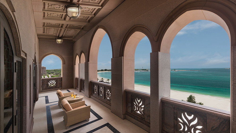Balcony of the Royal Khaleej Suite at Emirates Palace