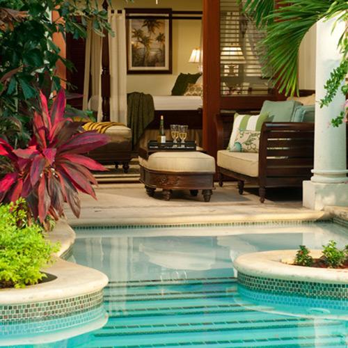 Swim-up Suite at Sandals Royal Caribbean