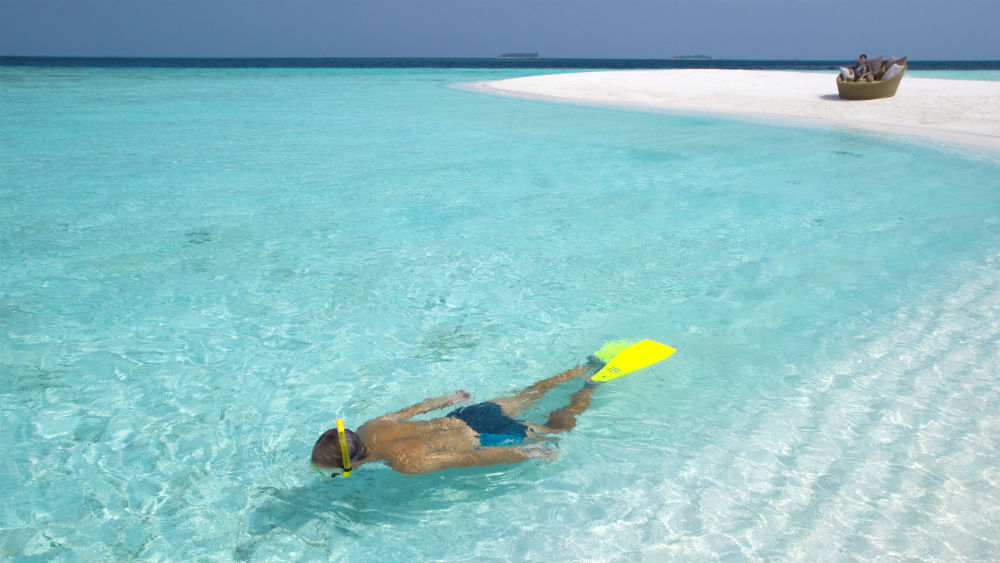Sandbank Snorkelling at the Baros Maldives