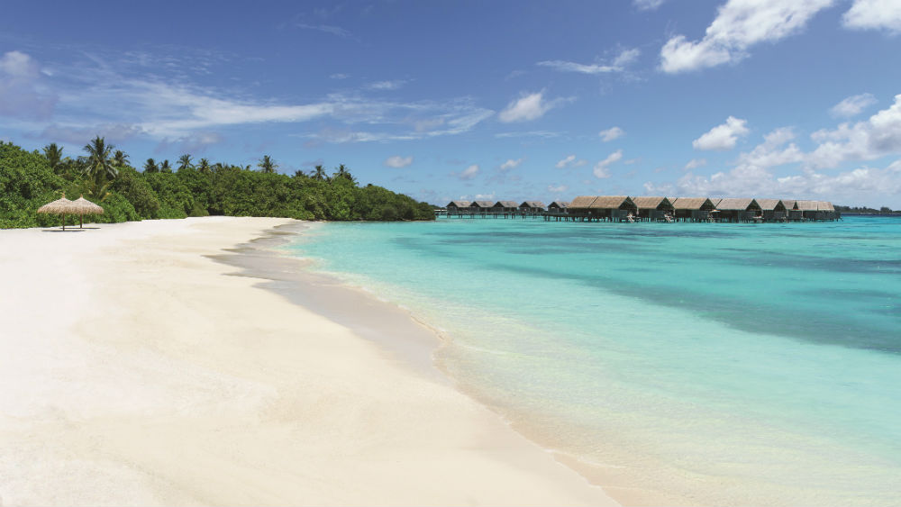 Serenity Bay Beach at the Shangri La Villingili Maldives
