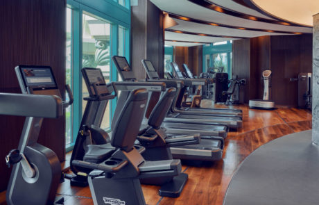 Shuiqi fitness machinery at the Atlantis The Palm