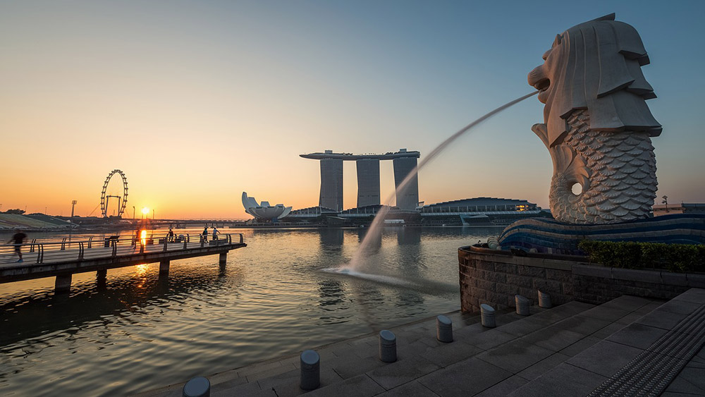Marina Bay in Singapore on an Australia multi-centre holiday