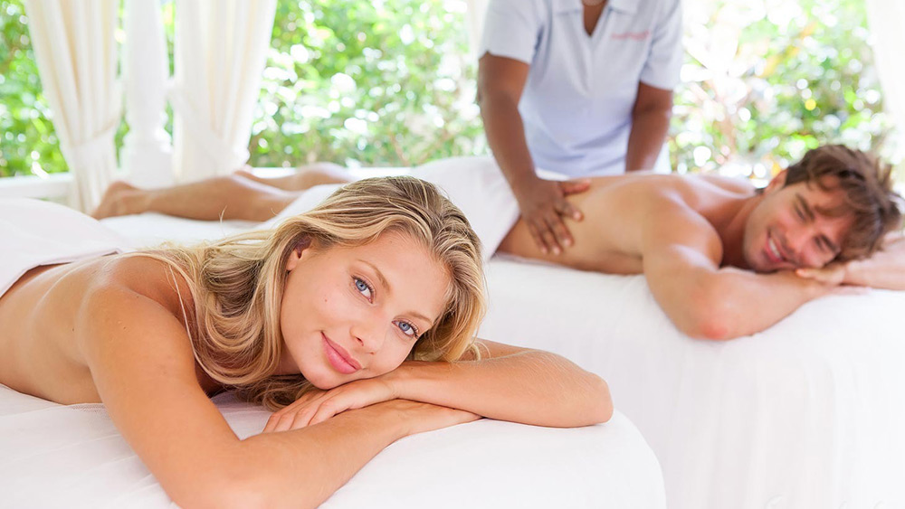 Couples massage at Sandals Grande St Lucian