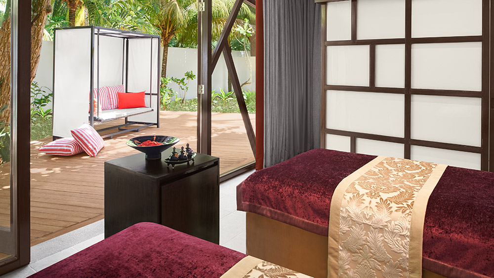 Treatment tables at AvaniSpa at AVANI Barbarons Seychelles