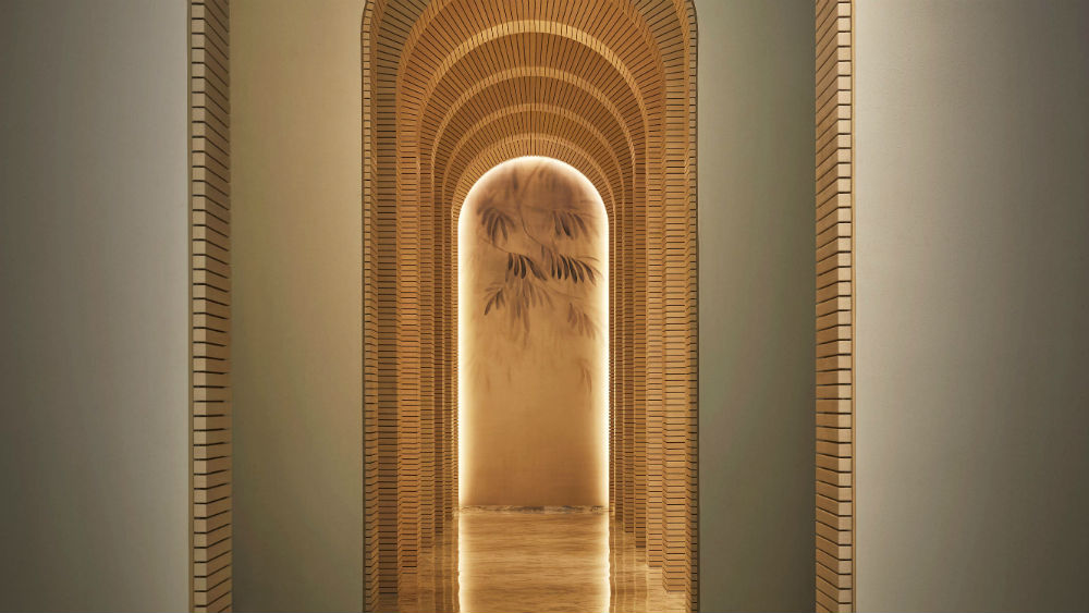 Spa lobby at the Five Palm Jumeriah