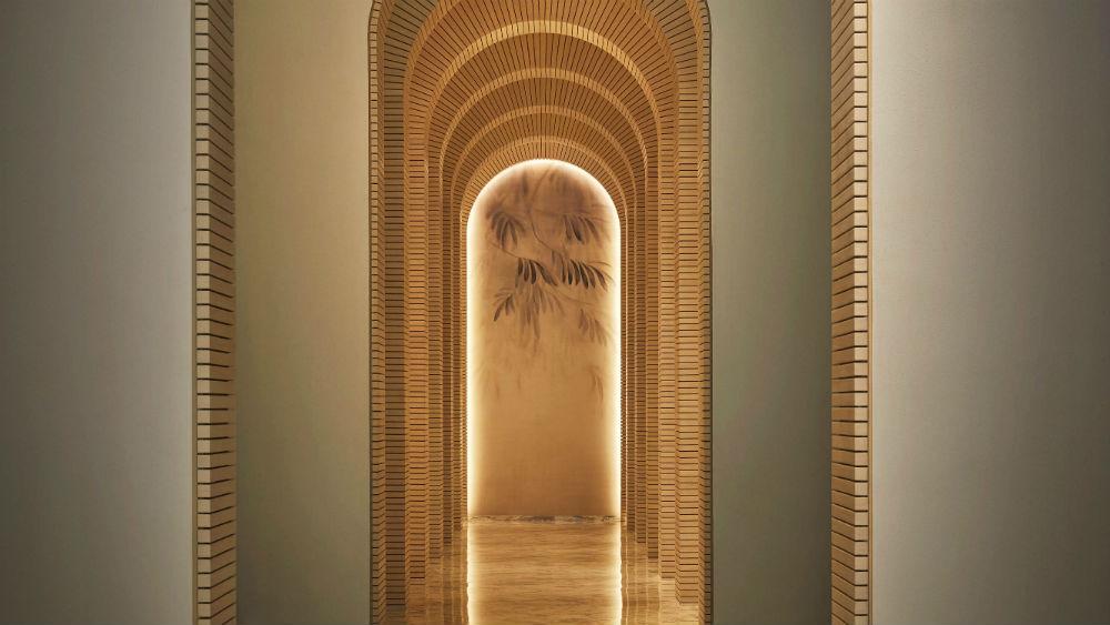 Spa lobby at the Five Palm Jumeriah