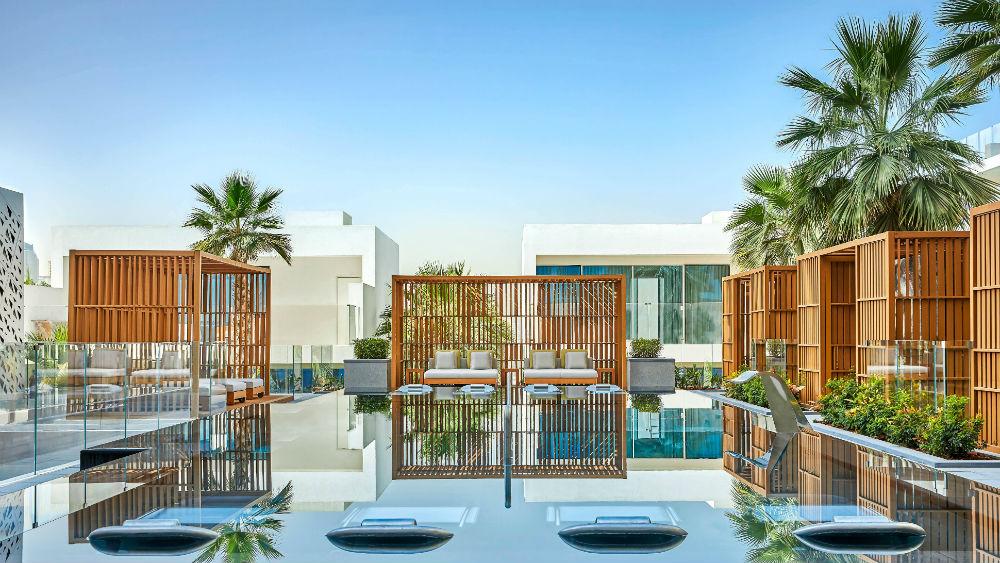 Spa pool at the Five Palm Jumeriah