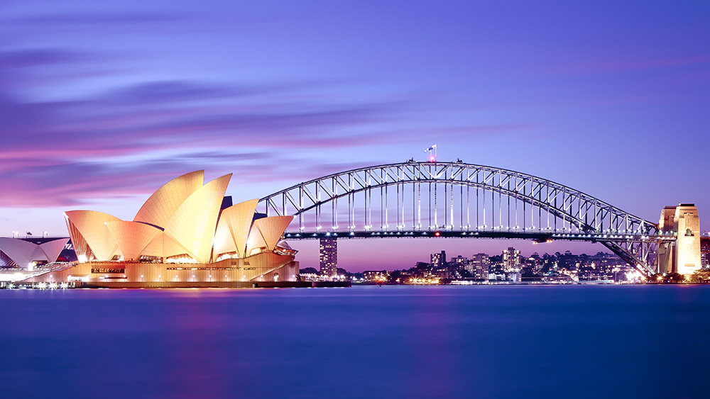 Sydney Harbour on an Australia multi-centre holiday