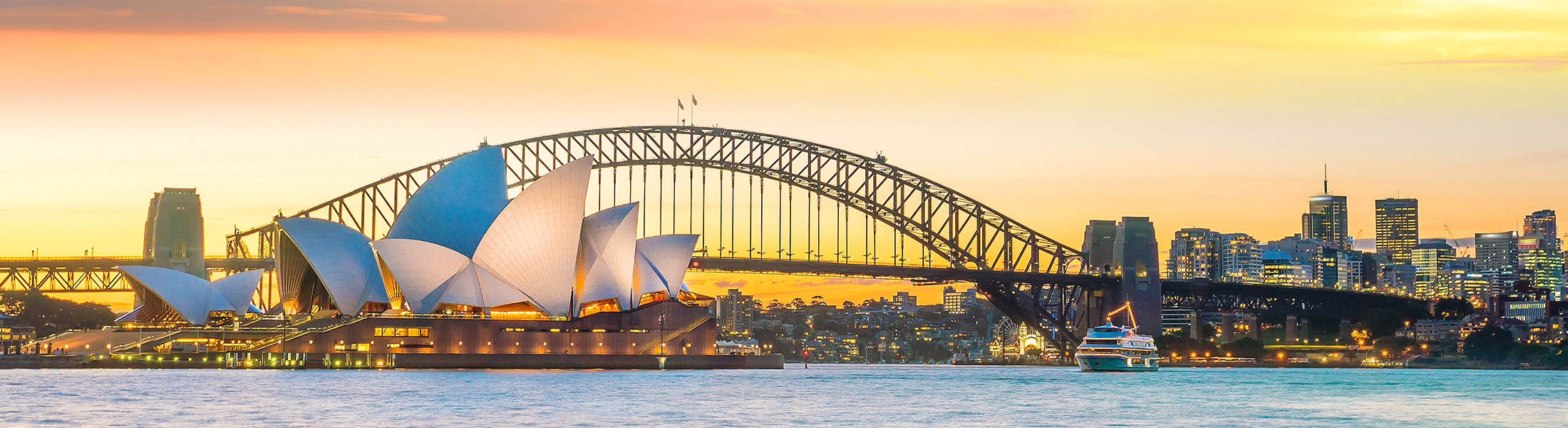 Sydney Harbour Bridge & Sydney Opera House