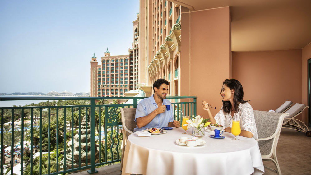 Terrace Club Suite at the Atlantis The Palm