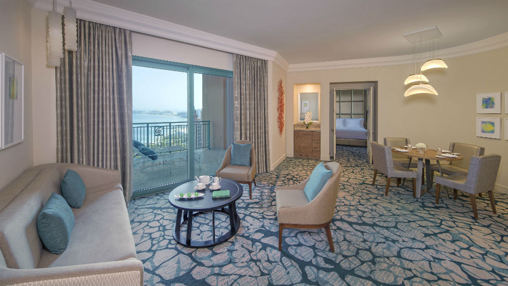 Terrace club Two bedroom suite at the Atlantis The Palm