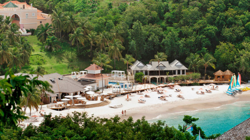 The BodyHoliday St Lucia Aerial View