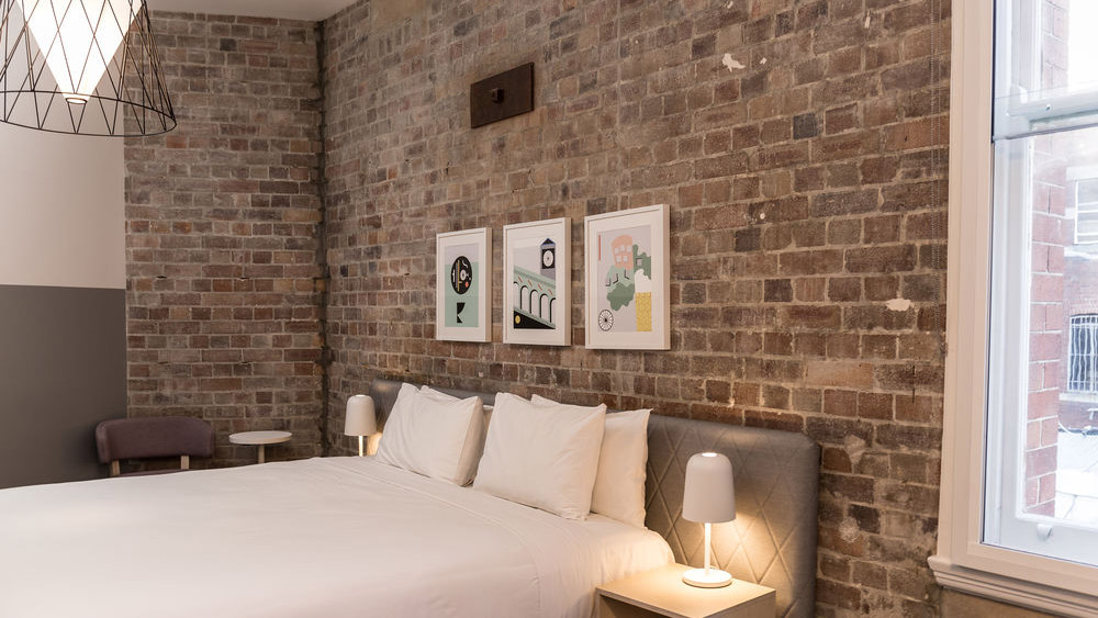Bedroom of the Ultimo in Sydney