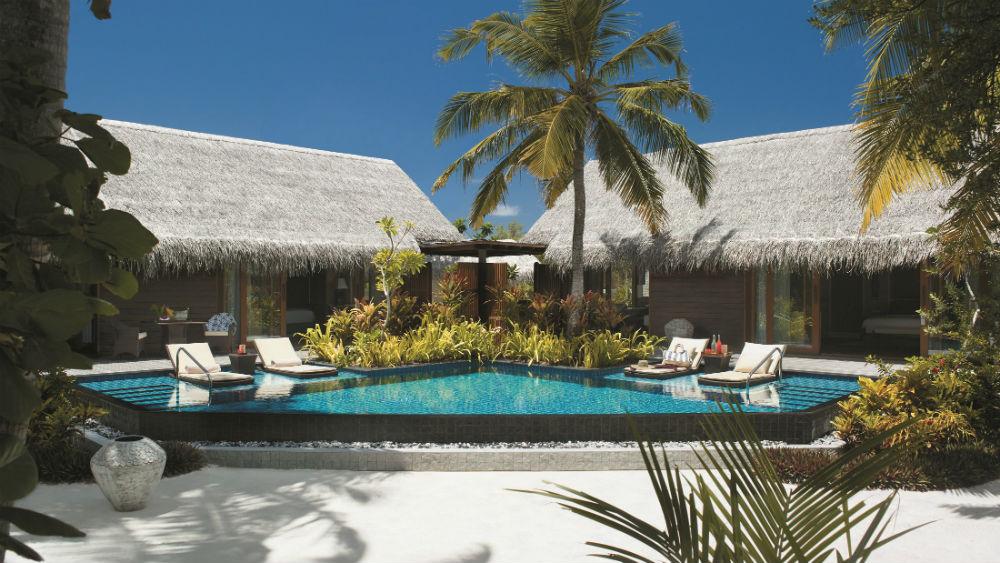 Two-Bedroom Beach Villa Shangri La Villingili Maldives