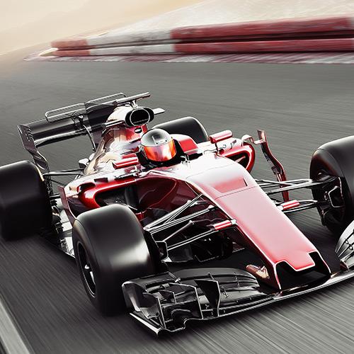 F1 car at the Vietnam Formula 1 Grand Prix
