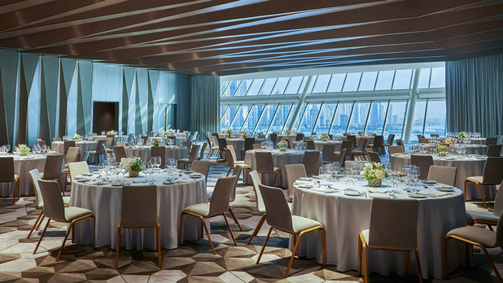 Vista ballroom at the Five Palm Jumeriah