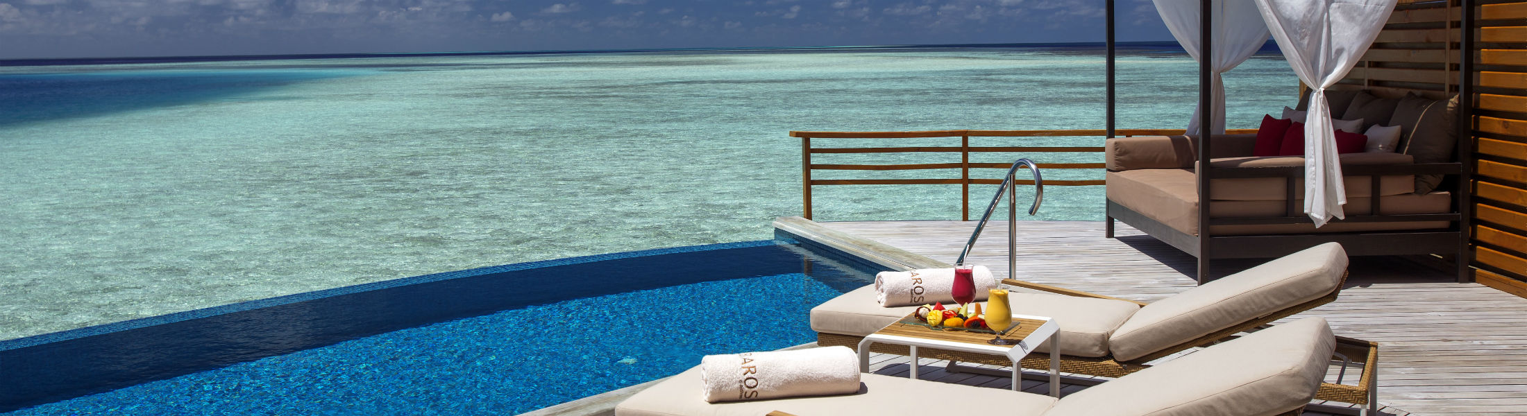 Water Pool Villa at the Baros Maldives