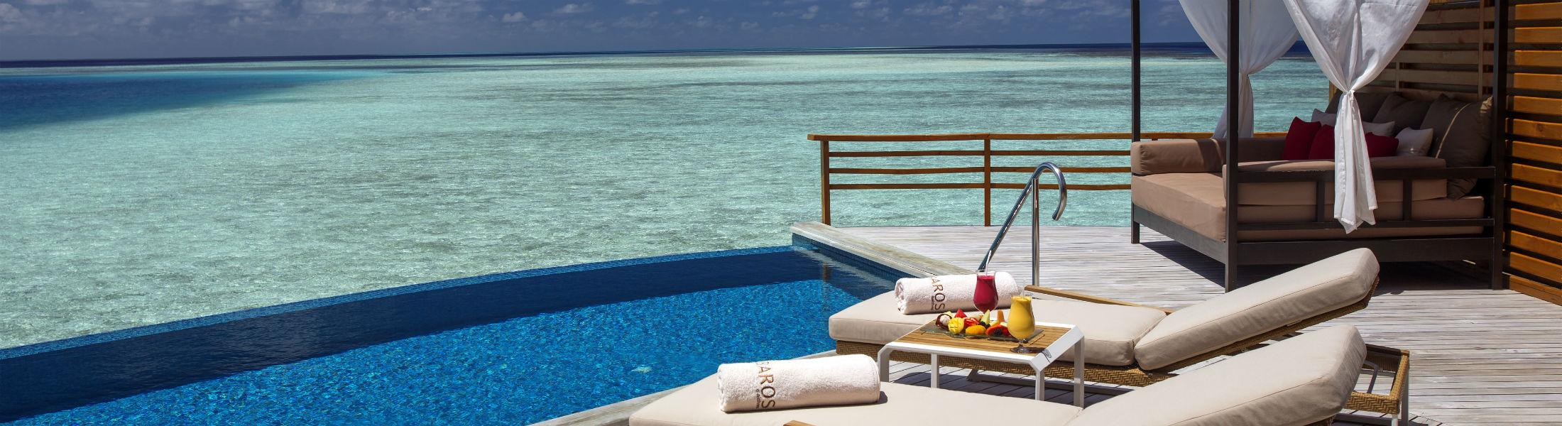 Water Pool Villa at the Baros Maldives