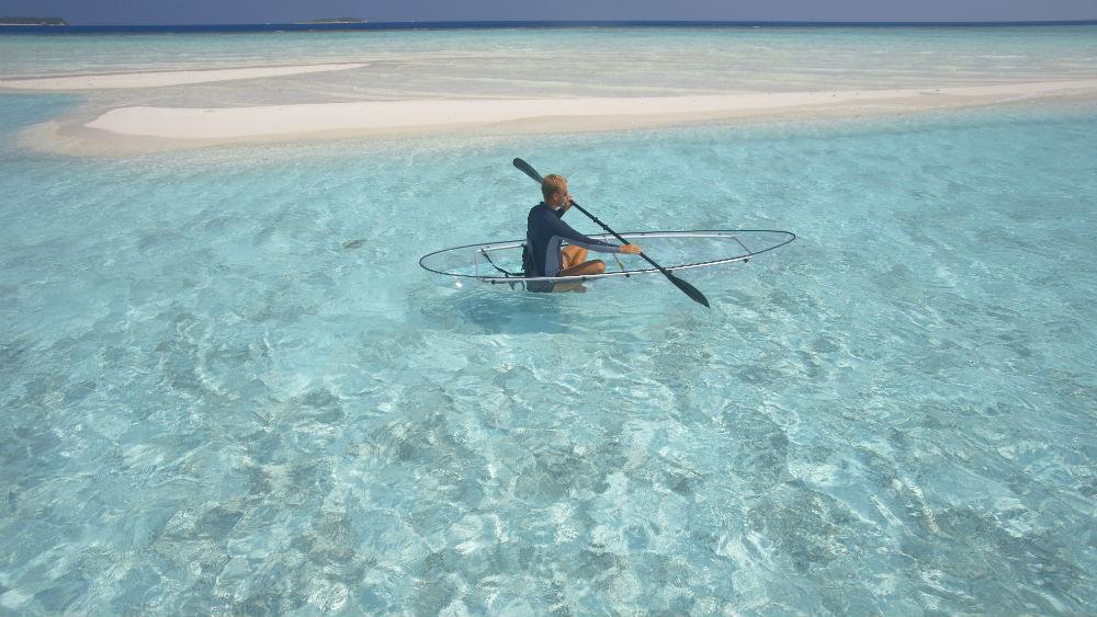 WS Canoe at the Baros Maldives
