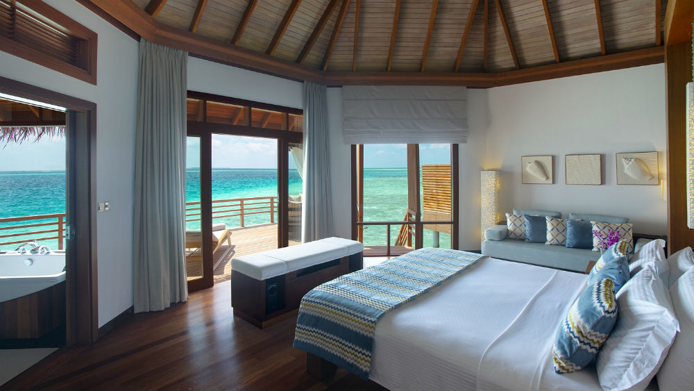 Water Villa at the Baros Maldives