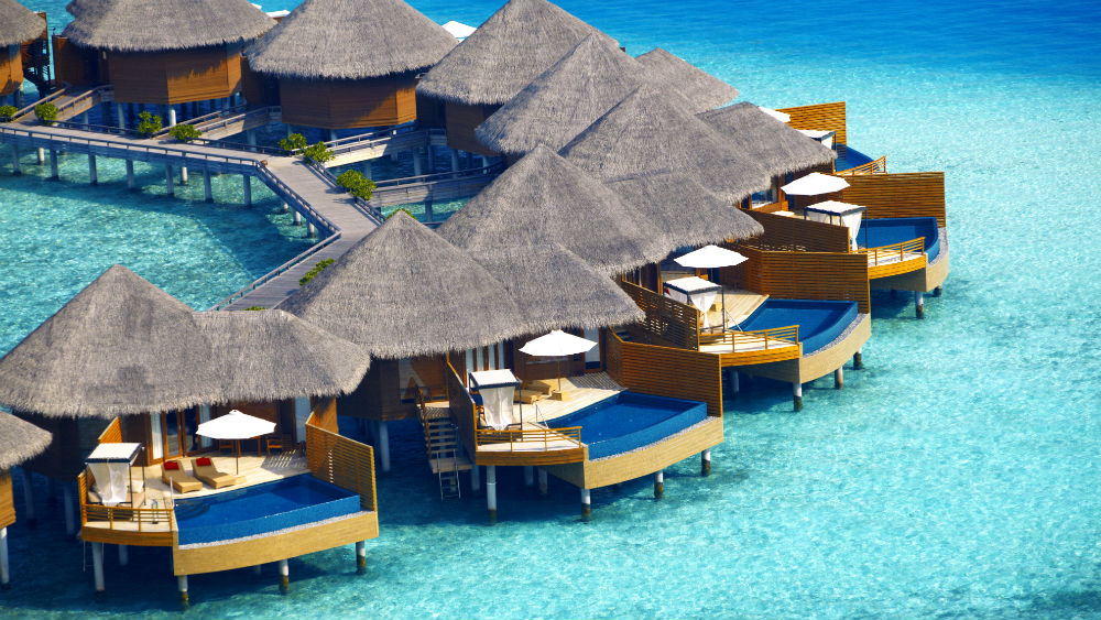 Waterpool Villa at the Baros Maldives