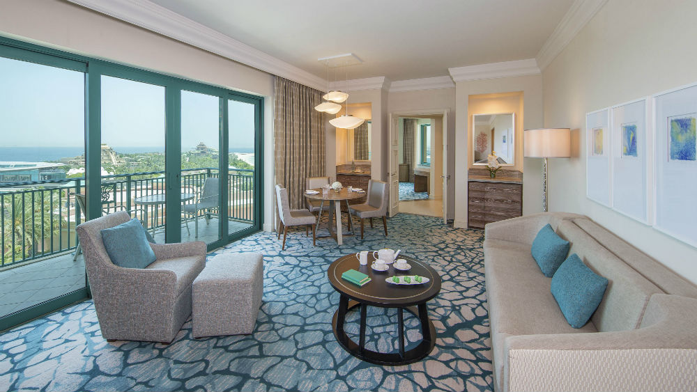 Executive club two bedroom suite at the Atlantis The Palm