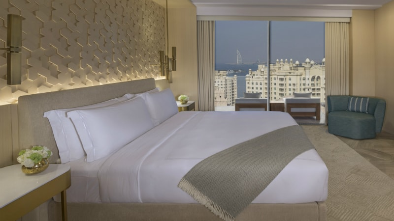 junior suite at the Five Palm Jumeirah