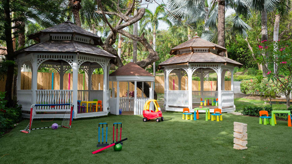 kids Play area at the Blue Waters Antigua