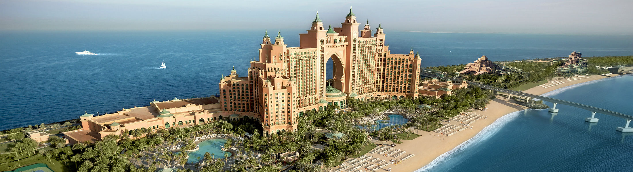 Atlantis The Palm beach front