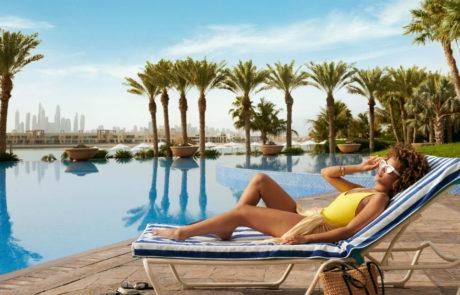 Royal pool at the Atlantis The Palm