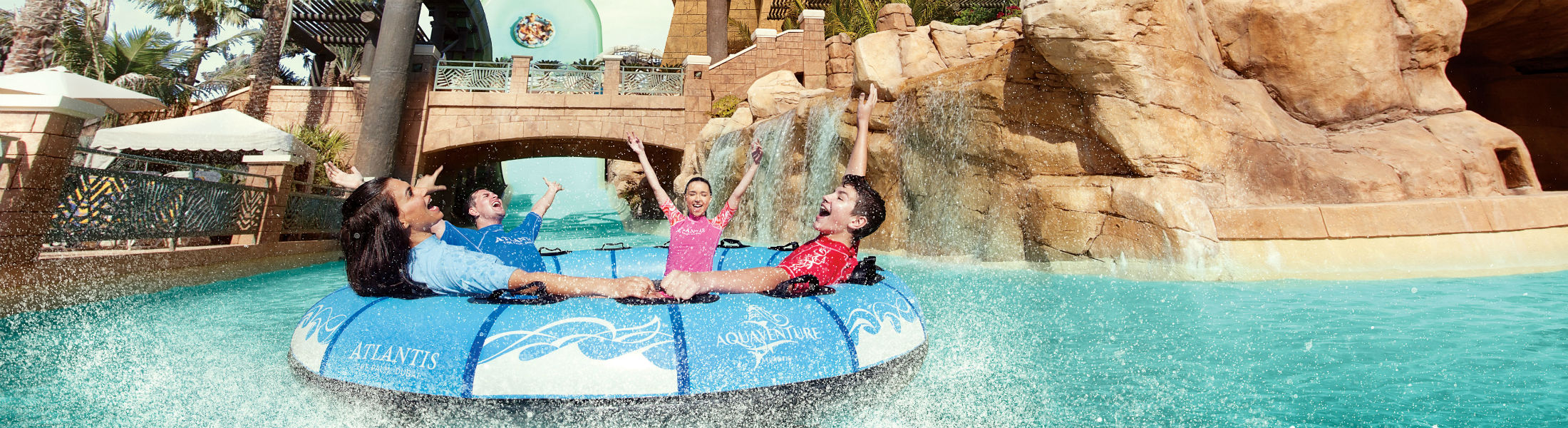 splashdown Zoomerango at the Atlantis The Palm