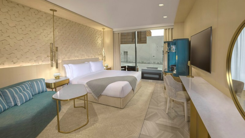 Superior room at the Five Palm Jumeirah