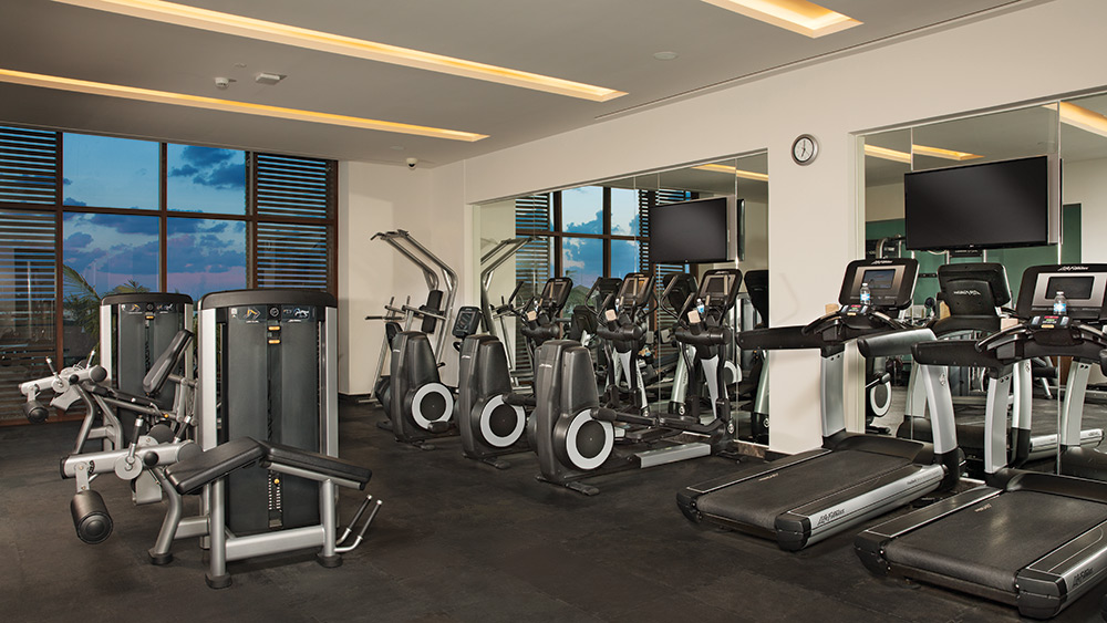 Fitness centre at Dreams Playa Mujeres