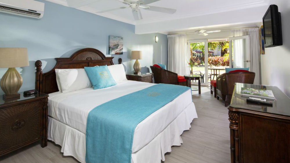 Garden view room at The Club, Barbados Resort & Spa