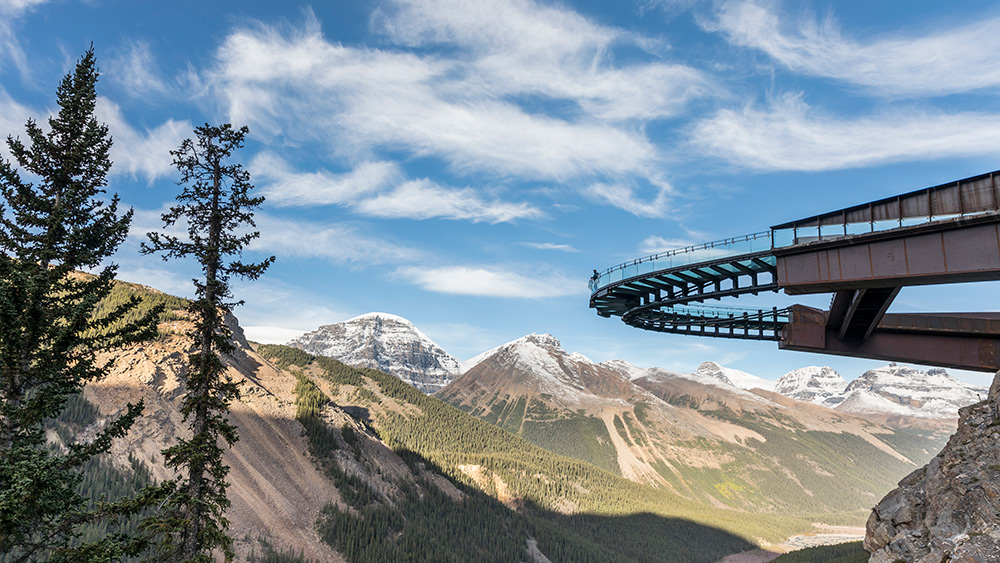 Glacier Skywalk in British Columbia