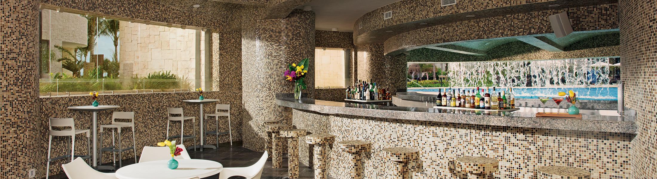 Grotto Bar at Dreams Playa Mujeres