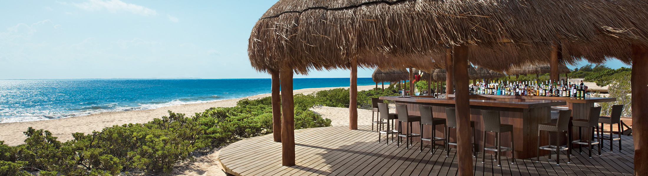 Beach Bar at Dreams Playa Mujeres