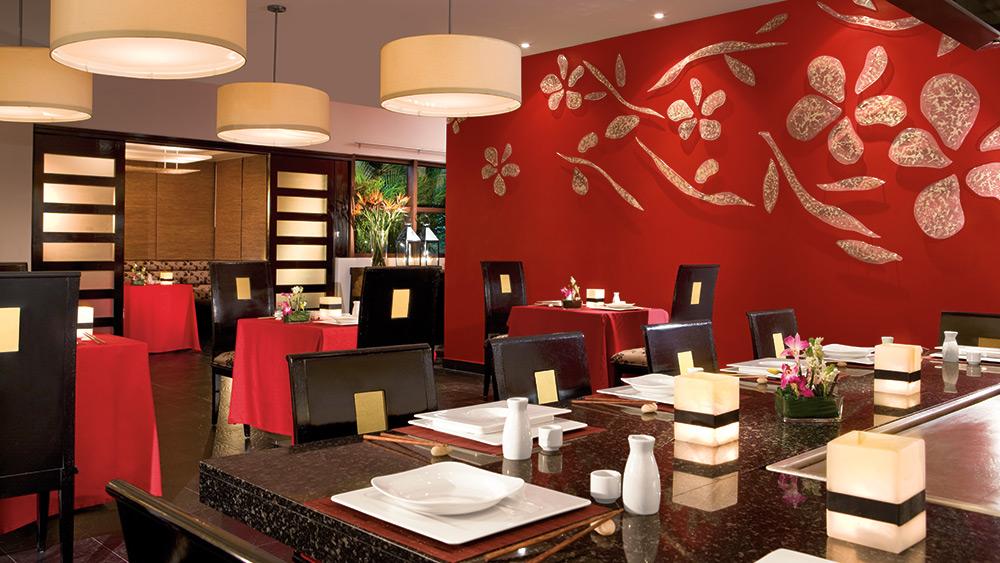 Japanese restaurant at Dreams Riviera Cancun