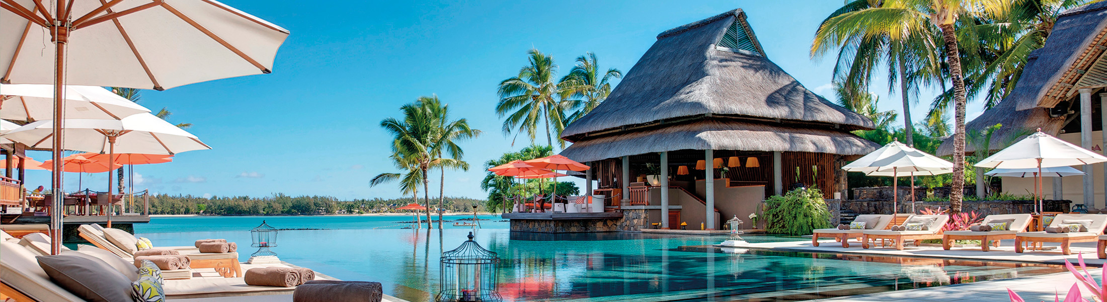 Main pool at Constance Prince Maurice