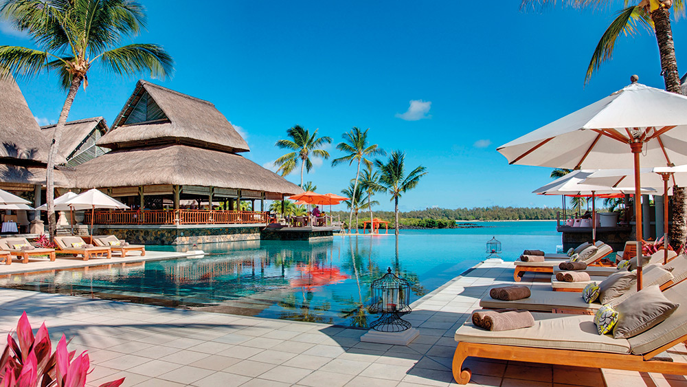Infinity pool at Constance Prince Maurice