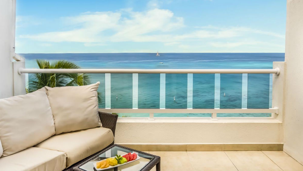 Ocean Front Junior Suite at the Waves Hotel & Spa by Elegant Hotels