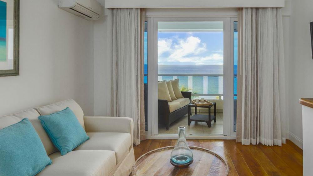 Ocean Front Split Level Room at the Waves Hotel & Spa by Elegant Hotels